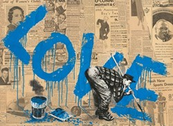 All You Need is by Mr. Brainwash - Unique sized 30x22 inches. Available from Whitewall Galleries